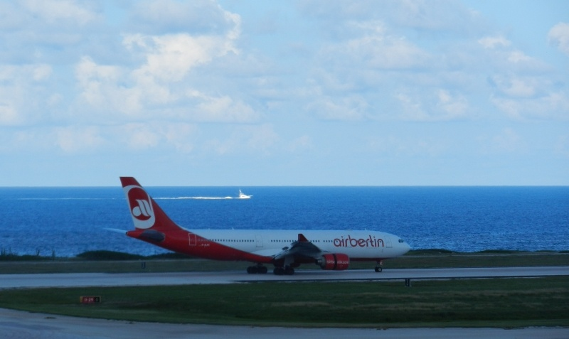 Airberlin in Curacao