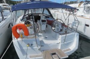 Unsere Yacht für 2 Wochen